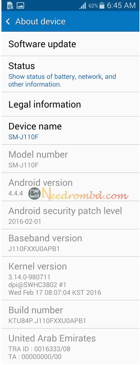 Samsung J1 Ace (J110F) Tested Rom - GSM-Forum