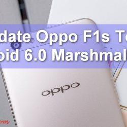 Oppo f1s Update