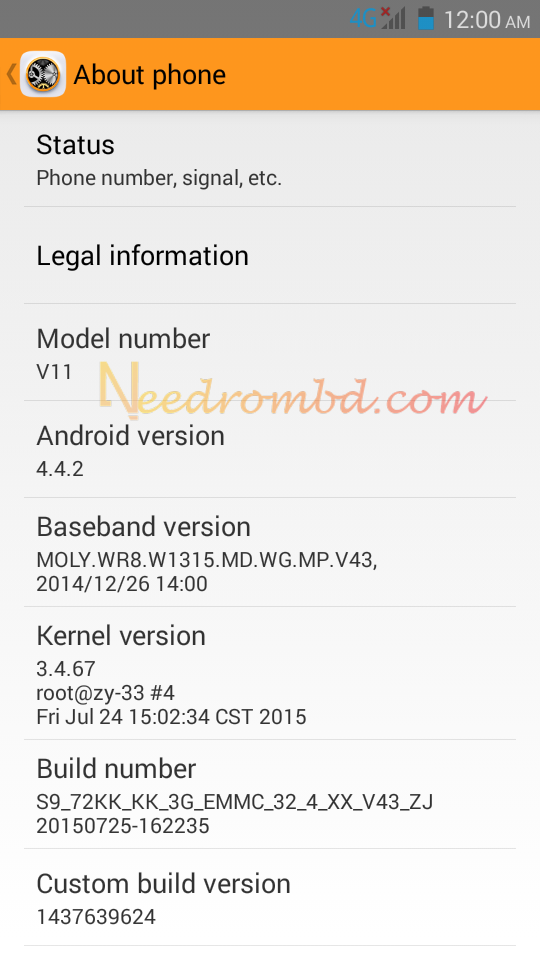 x bo v11 firmware without password