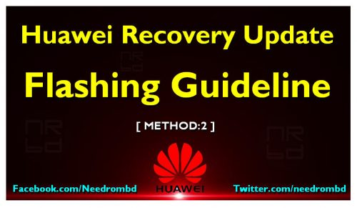 Huawei Recovery Update