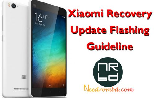 Xiaomi Recovery Update