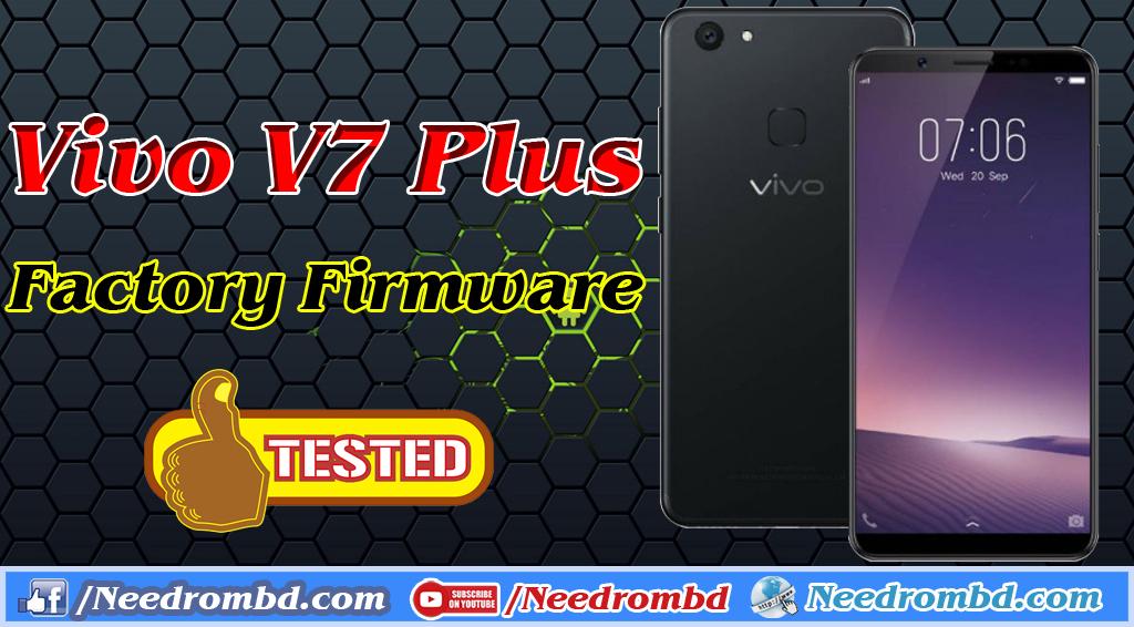 Vivo V7 Plus Factory Firmware Direct Download | Needrombd