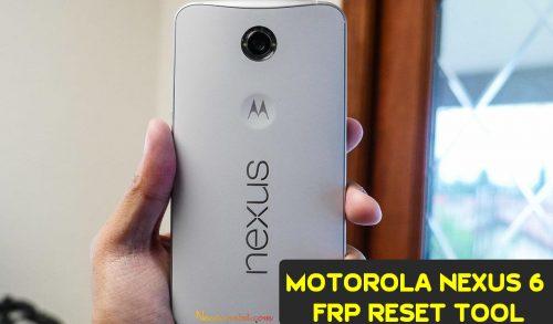 Moto Fos V6 Nexus 6 FRP Reset Tool