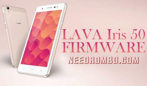 Lava iris 50 Update Stock Firmware Rom | Needrombd
