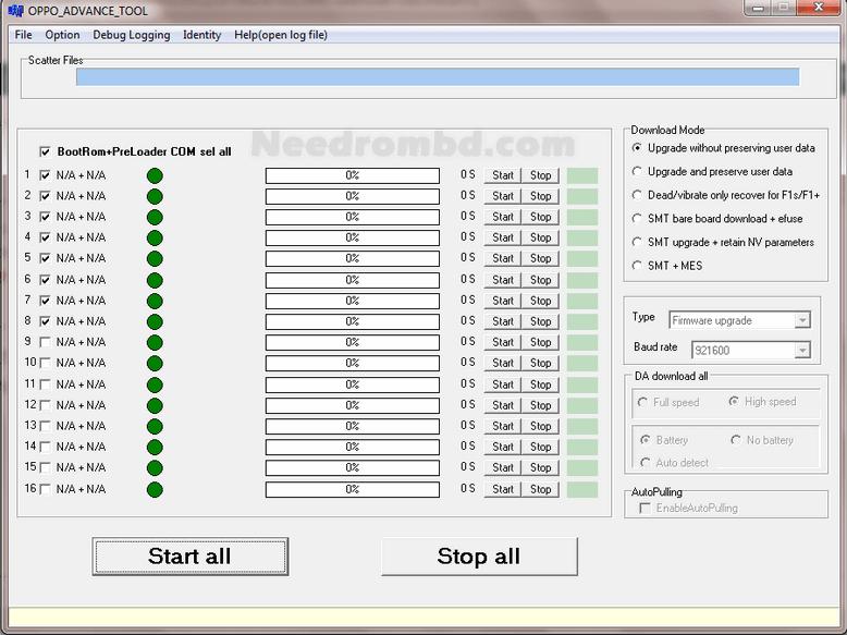 How to Flash Oppo MTK using Oppo Advance Tool | Needrombd