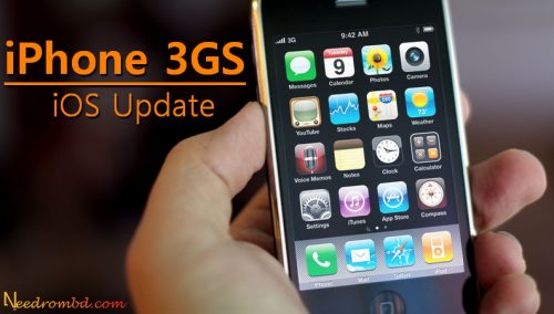 Help updating iphone 3gs