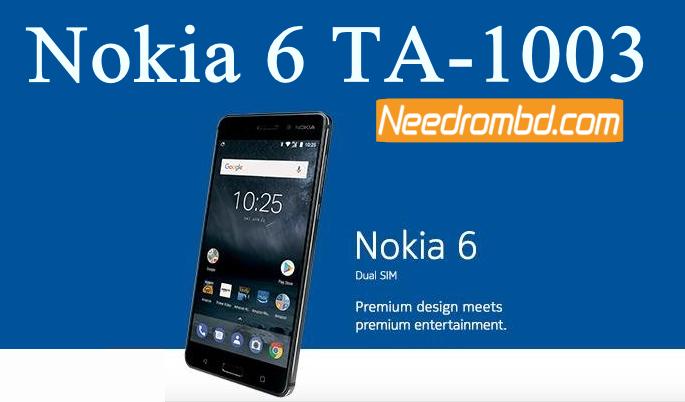 Nokia 6 TA-1003