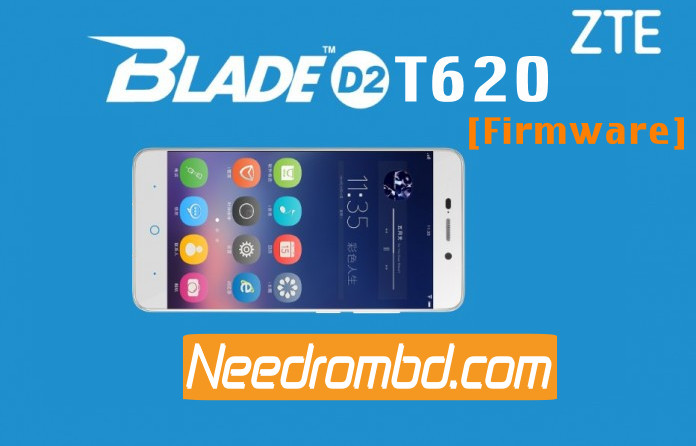 ZTE Blade D2 T620 MT6735 Firmware Download | Needrombd