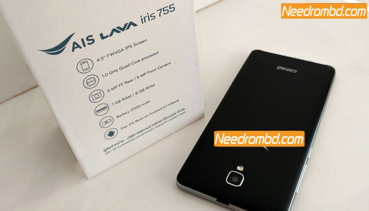 Lava Iris 755 MT6735 FRP Unlock Firmware | Needrombd