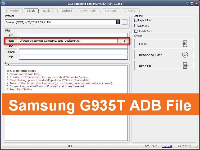 Samsung G935T ADB File