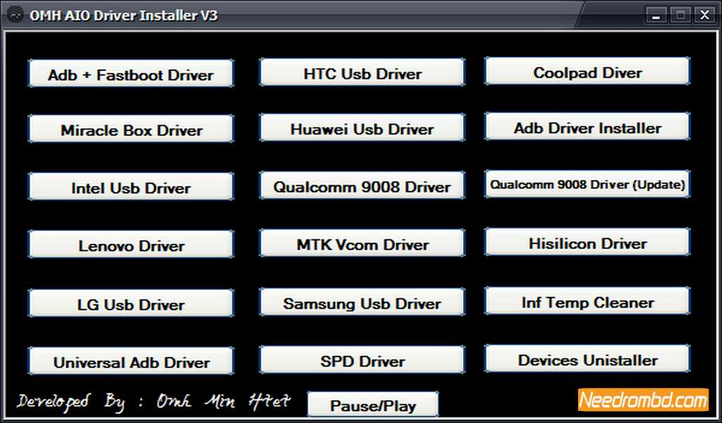 All In One USB Driver