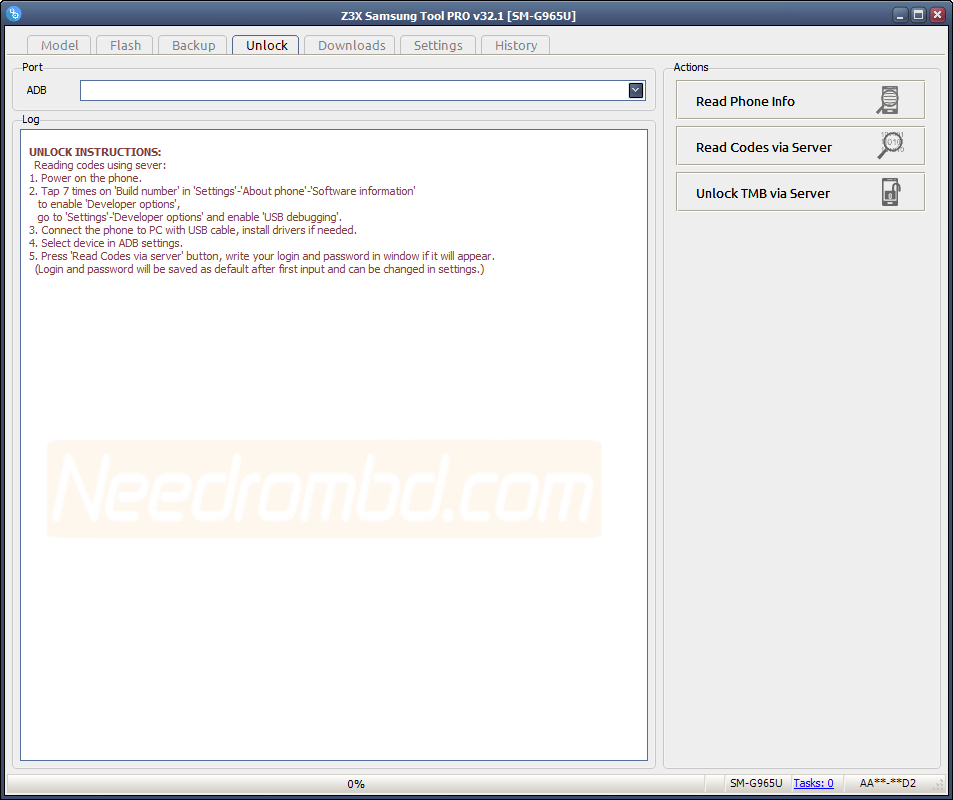 Samsung Tool Pro 32 1 Update Setup Download | Needrombd