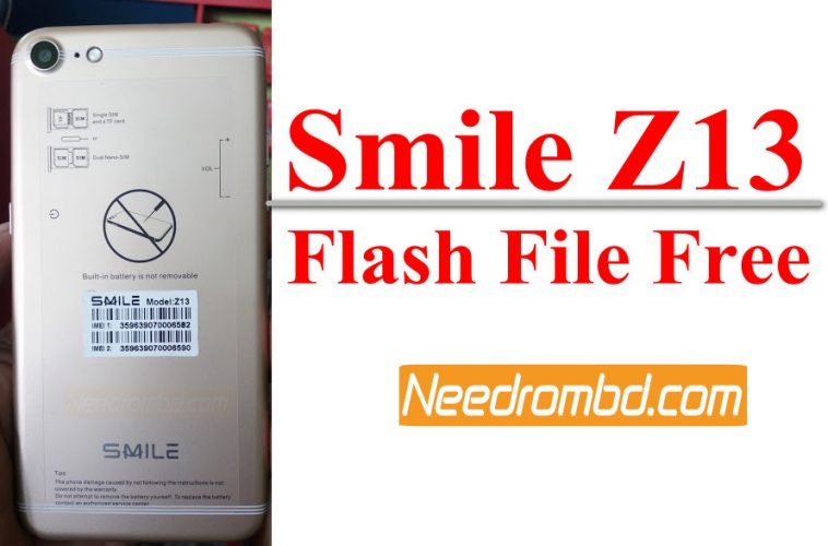 Smile Z13 MT6580