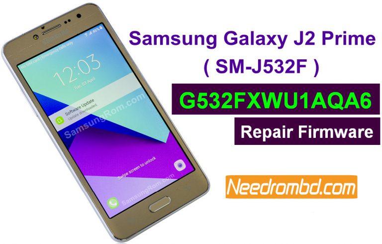 Samsung J2 Prime SM-G532F-G532FXWU1AQA6 Firmware | Needrombd
