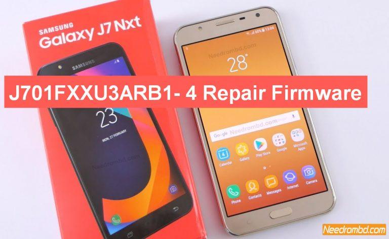 Samsung J7 NXT SM-J701F- J701FXXU3ARB1 Firmware | Needrombd