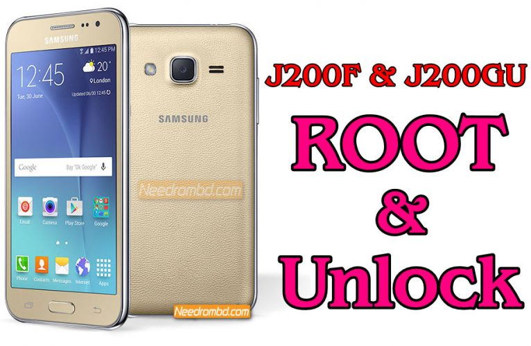 Samsung J200F & J200GU unlock