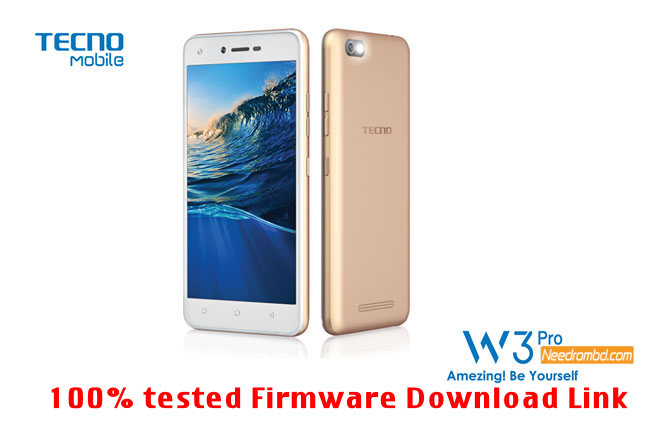 Tecno W3 Pro MT6580 Firmware Without Password | Needrombd