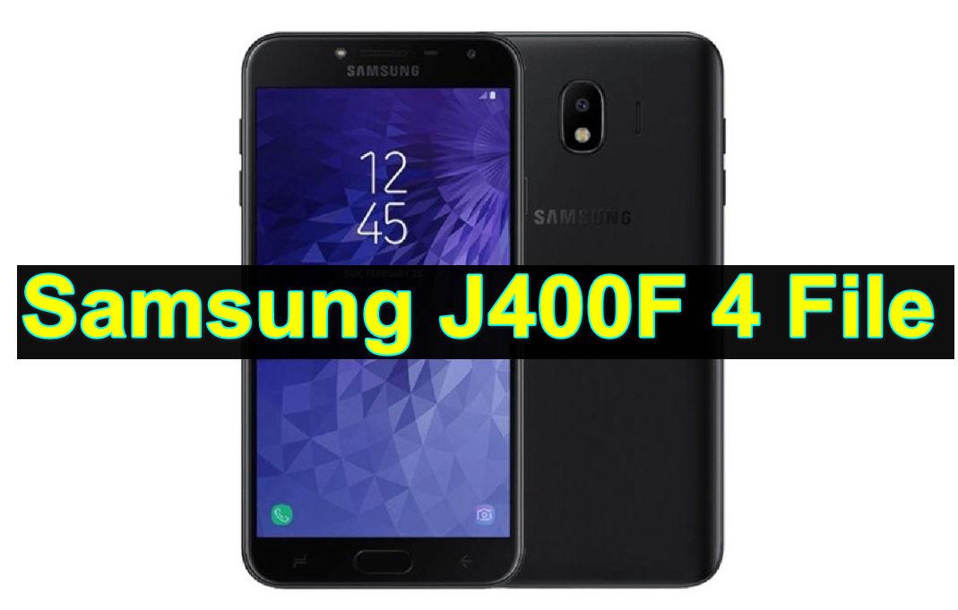 Samsung J400F 4 File