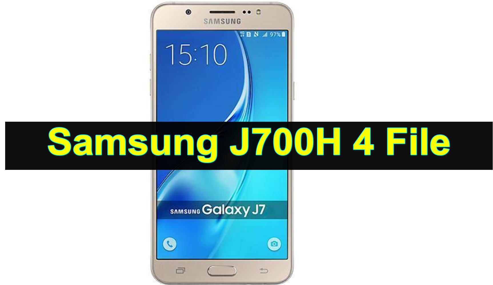 Samsung J700H 4 File