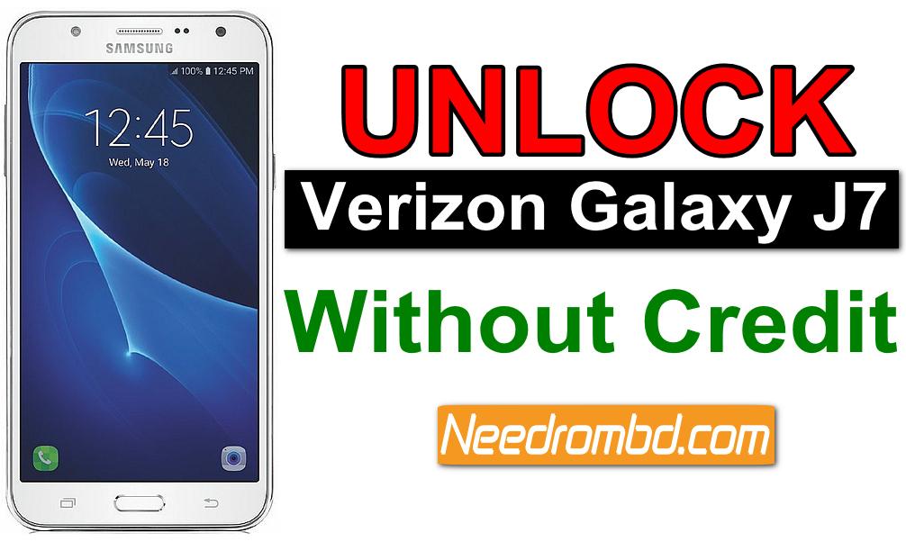 Unlock Samsung SM-J727VPP