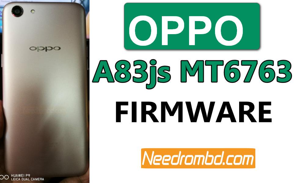 Oppo A83js CPH1729 MT6763 Firmware Download | Needrombd