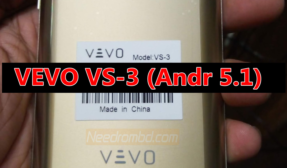 Vevo VS-3 Android 5.1