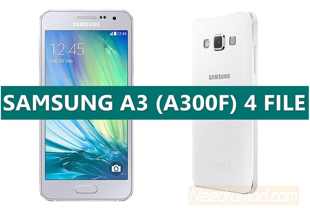 Samsung A300F 4 File