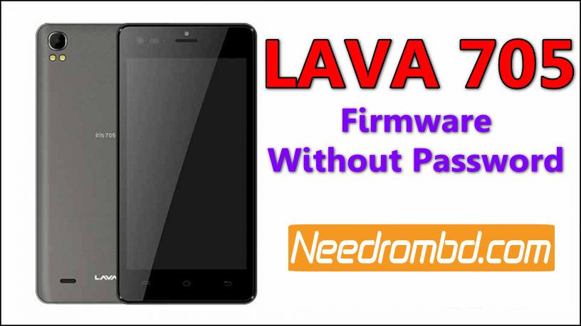 Lava iris 705 MT6580 Firmware
