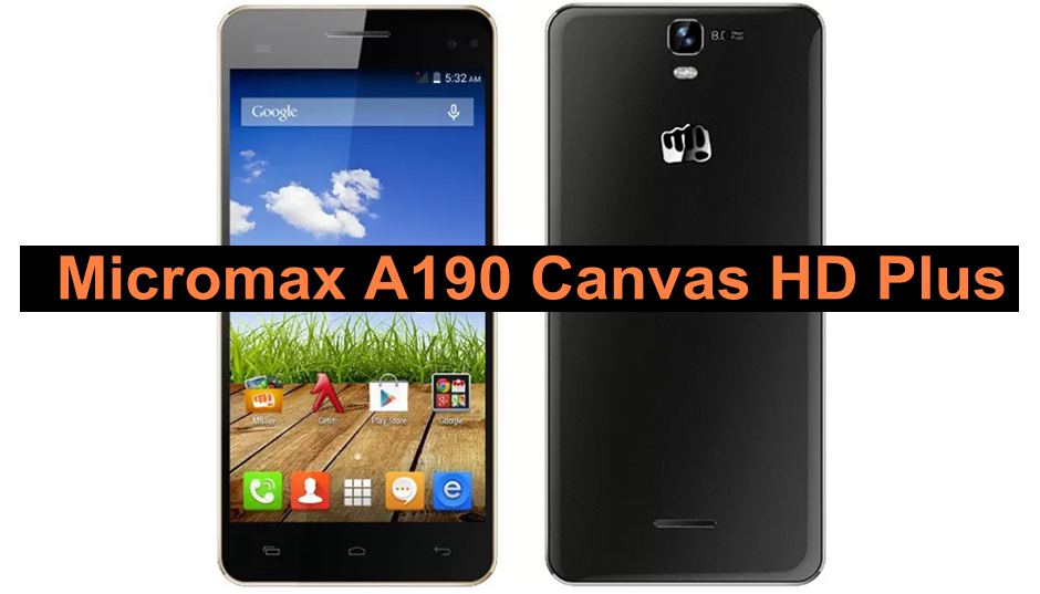 Micromax A190 Firmware