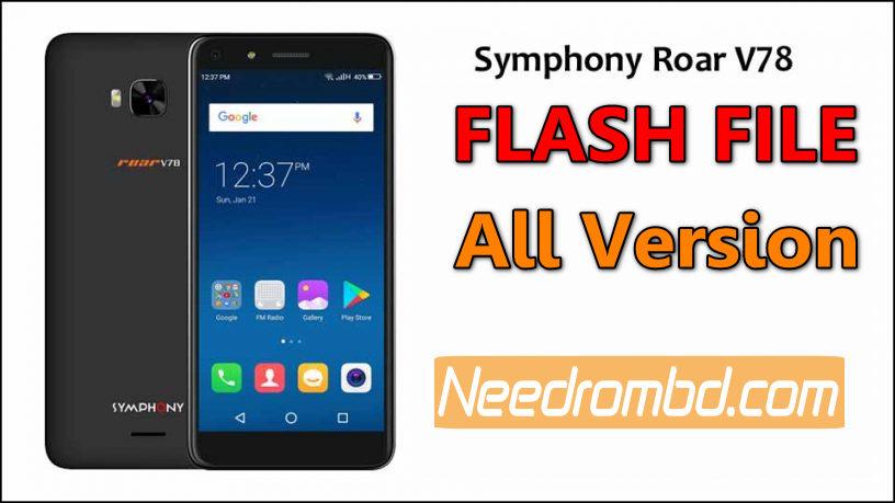 Symphony V78 Flash File