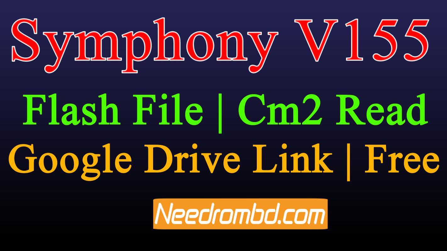 Symphony V155 Flash File