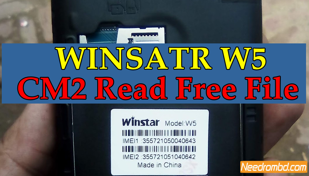Winstar W5 Flash File