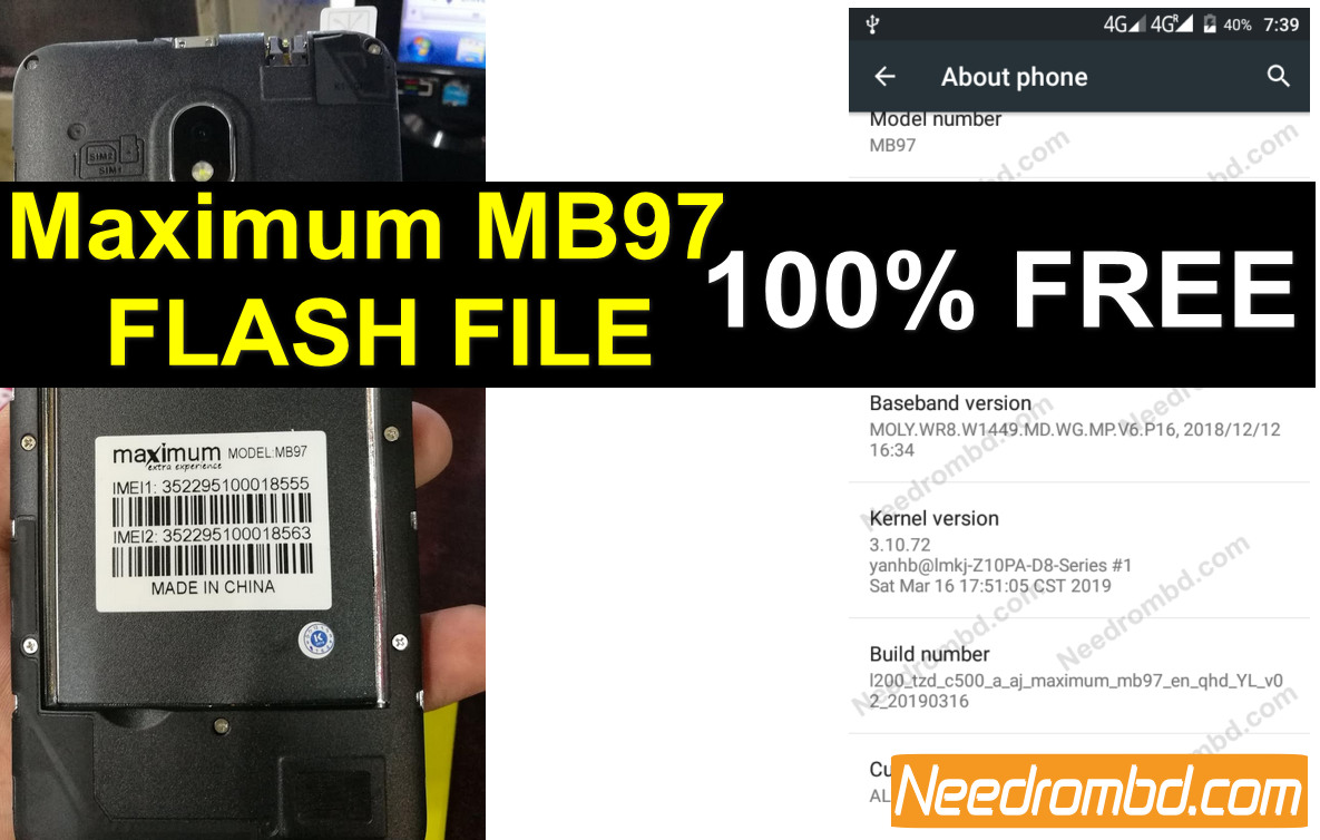 Maximum MB97 Firmware