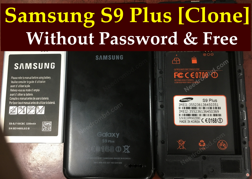 Samsung S9 Plus MT6580 Firmware