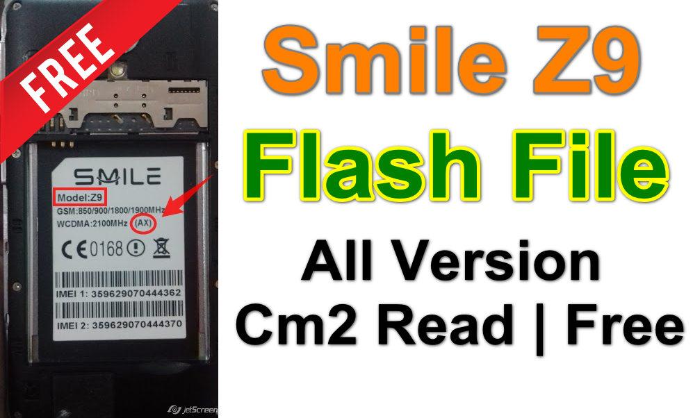 Smile Z9 Firmware