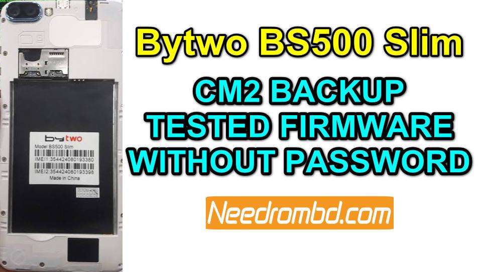 Bytwo BS500 Slim Firmware