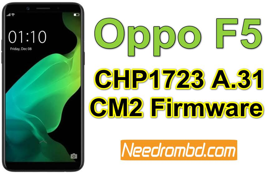 Oppo F5 Firmware