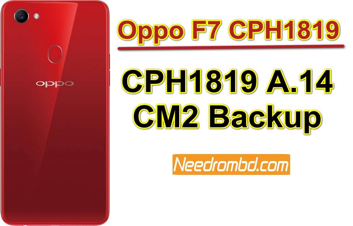 Oppo F7 Firmware