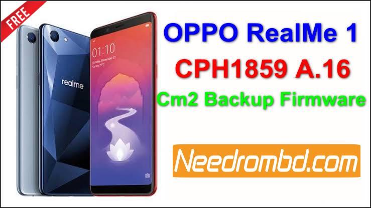 Oppo RealMe 1 Firmware