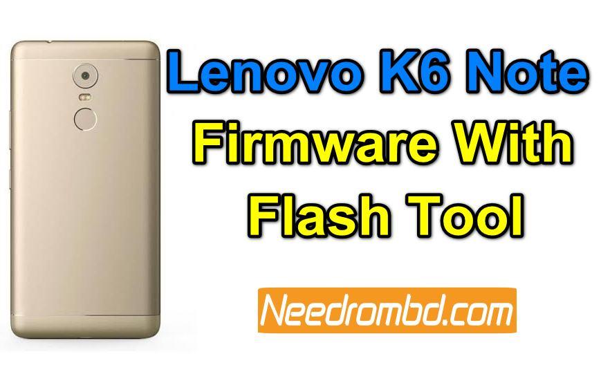 Lenovo K6 Note (K53a48) QFil Firmware