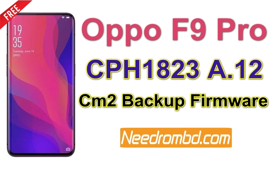Oppo F9 Pro Firmware