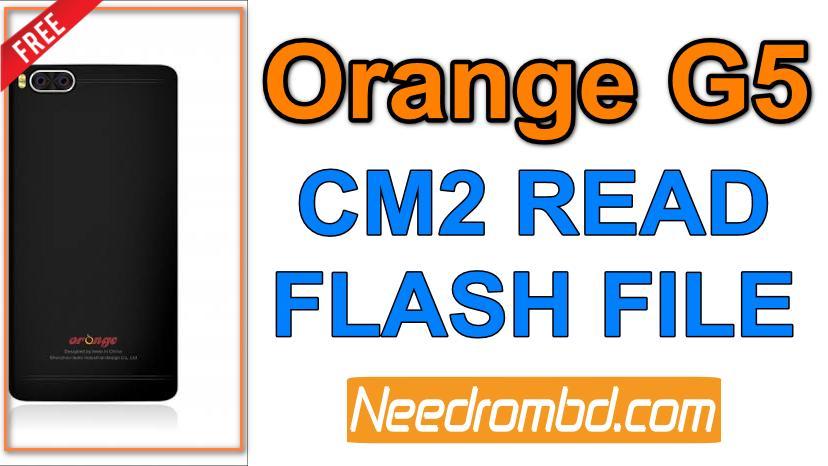Orange G5 Flash File