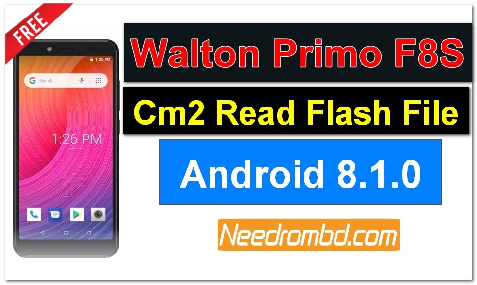 Walton Primo F8S Flash File