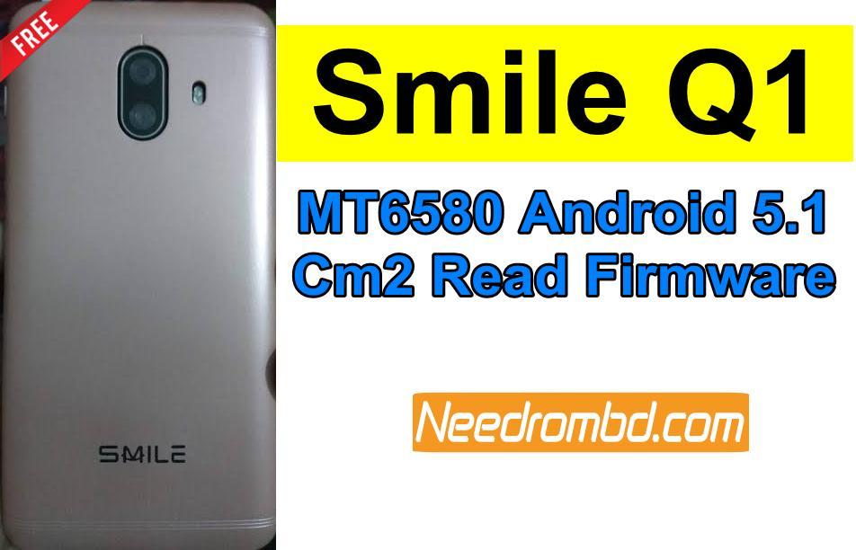 Smile Q1 Flash File