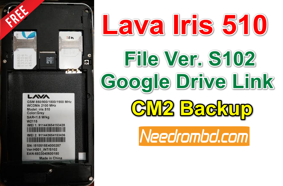 Lava Iris 510 Firmware