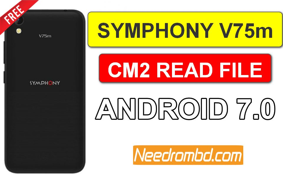 Symphony V75m Cm2 Read Flash File