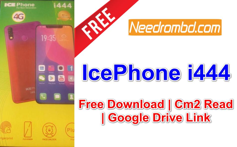 IcePhone i444 Flash File