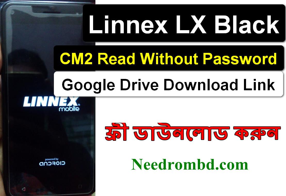 Linnex LX Black Flash File