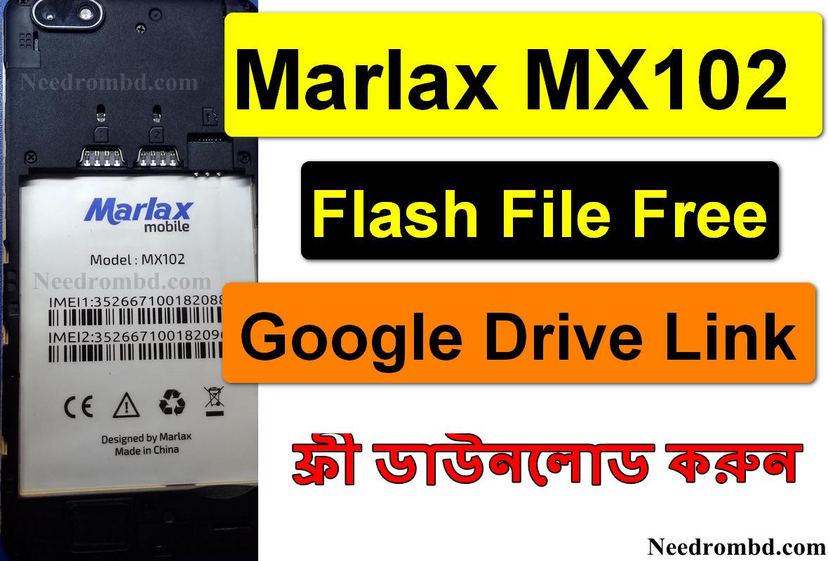 Marlax MX102 Flash File