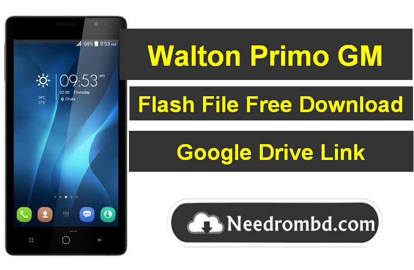 Walton Primo GM MT6582 Flash File